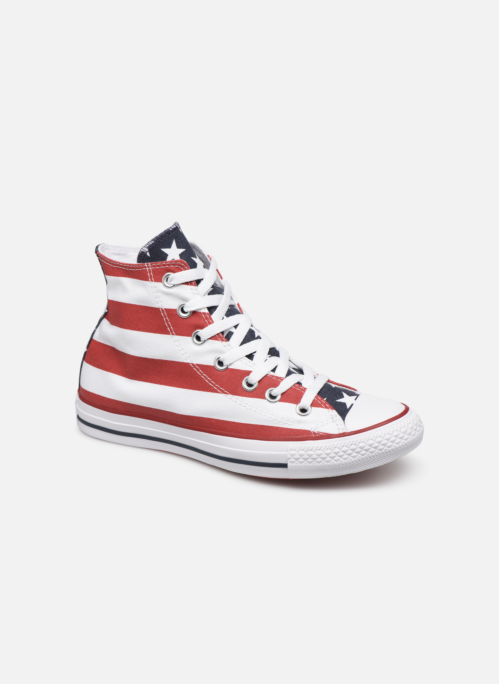 Converse Chuck Taylor Stars & Bars Hi W (Multicolore) - Baskets chez Sarenza (240838)