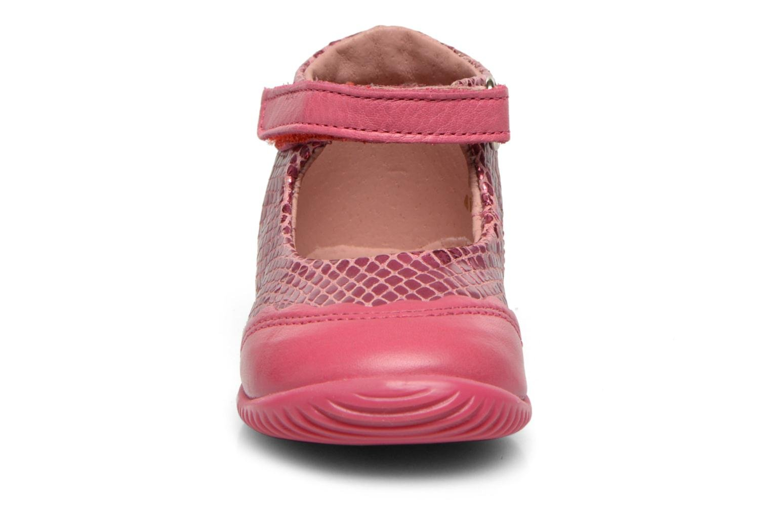 Ballerines Aster Deonia Rose vue portées chaussures