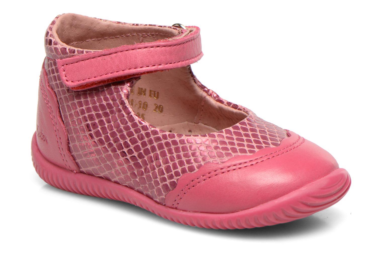 Ballerinas Aster Deonia rosa detaillierte ansicht/modell