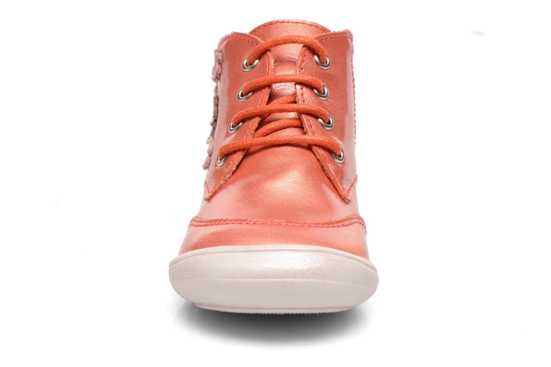 Bottines et boots Aster Mira Orange vue portées chaussures