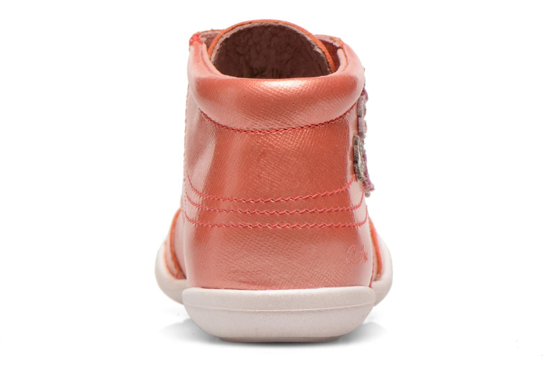 Bottines et boots Aster Mira Orange vue droite