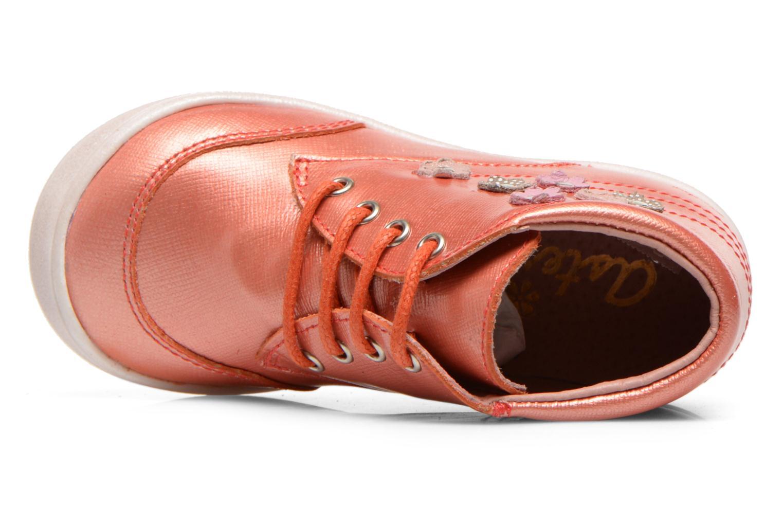 Bottines et boots Aster Mira Orange vue gauche