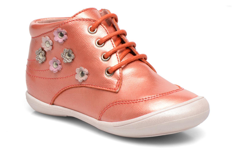 Ankelstøvler Aster Mira Orange detaljeret billede af skoene