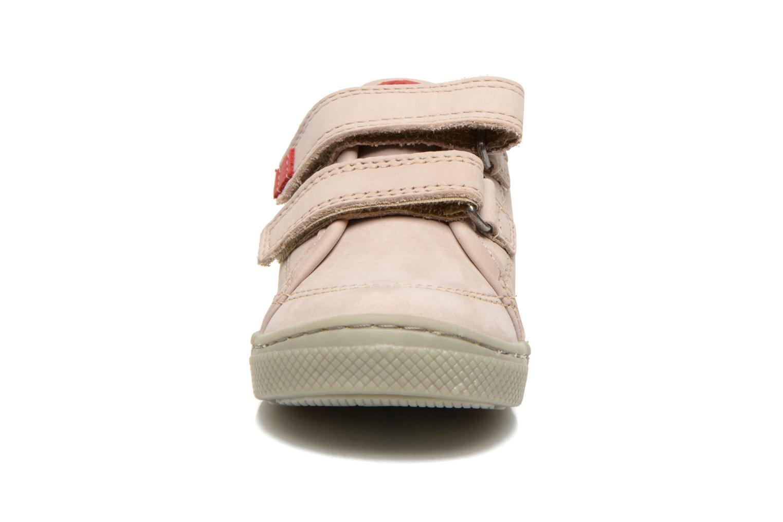 Chaussures à scratch Mod8 Virgile Gris vue portées chaussures