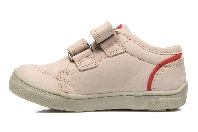 Chaussures à scratch Mod8 Virgile Gris vue face