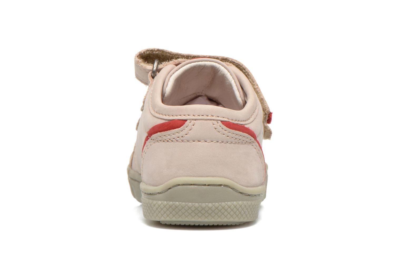 Chaussures à scratch Mod8 Virgile Gris vue droite