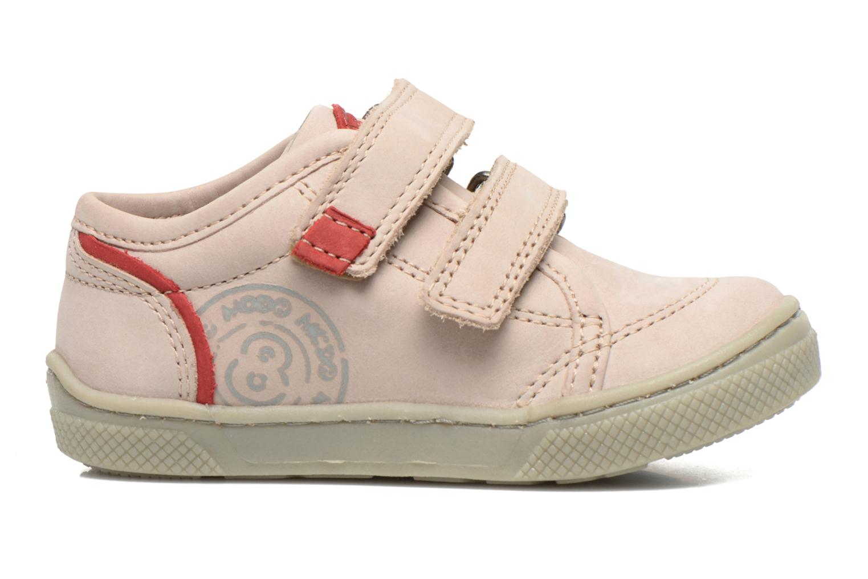 Chaussures à scratch Mod8 Virgile Gris vue derrière