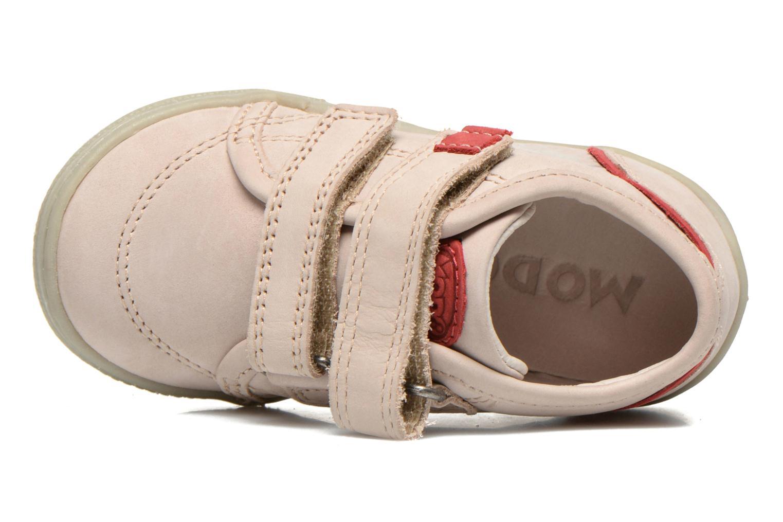 Chaussures à scratch Mod8 Virgile Gris vue gauche