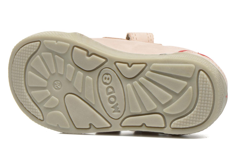 Chaussures à scratch Mod8 Virgile Gris vue haut
