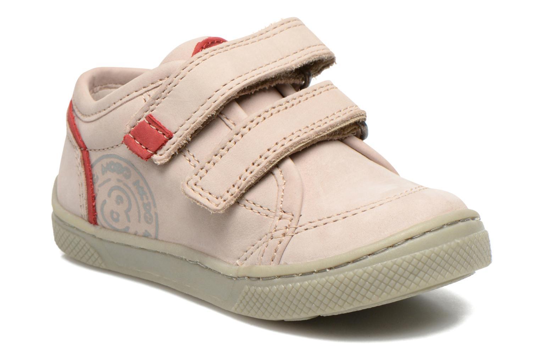 Chaussures à scratch Mod8 Virgile Gris vue détail/paire