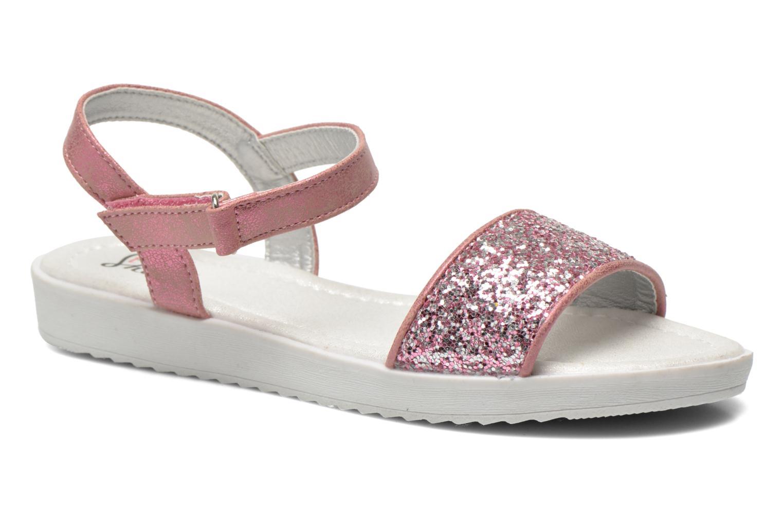 Sandales et nu-pieds I Love Shoes Supaillettes Rose vue détail/paire