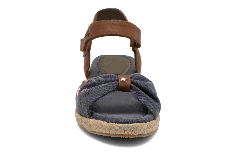 Sandals I Love Shoes Sudreto Blue model view