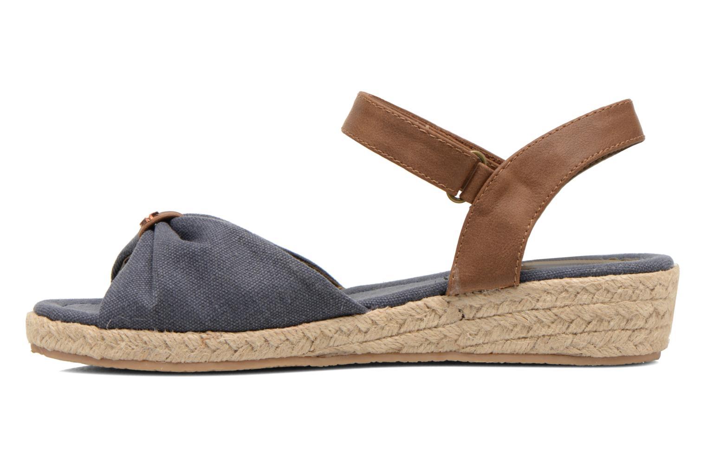 Sandals I Love Shoes Sudreto Blue front view