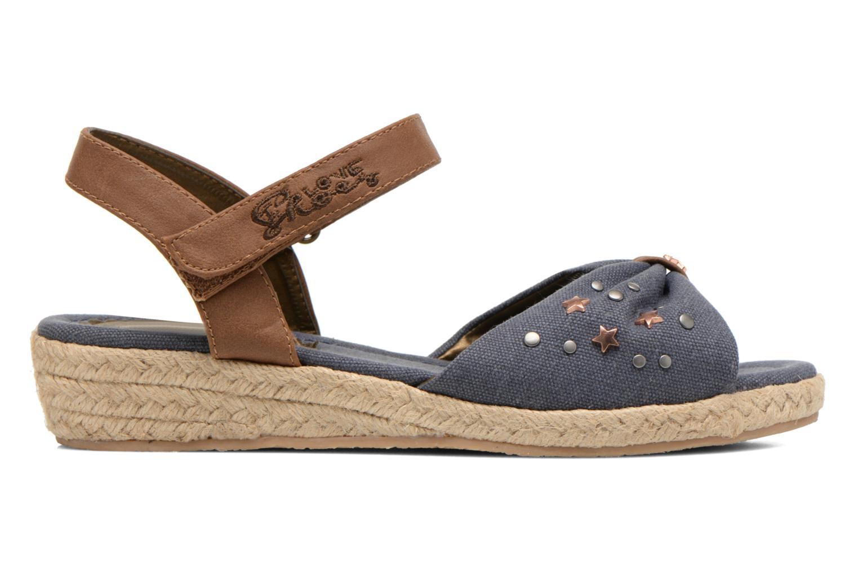 Sandals I Love Shoes Sudreto Blue back view
