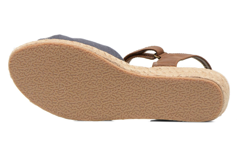 Sandalias I Love Shoes Sudreto Azul vista de arriba