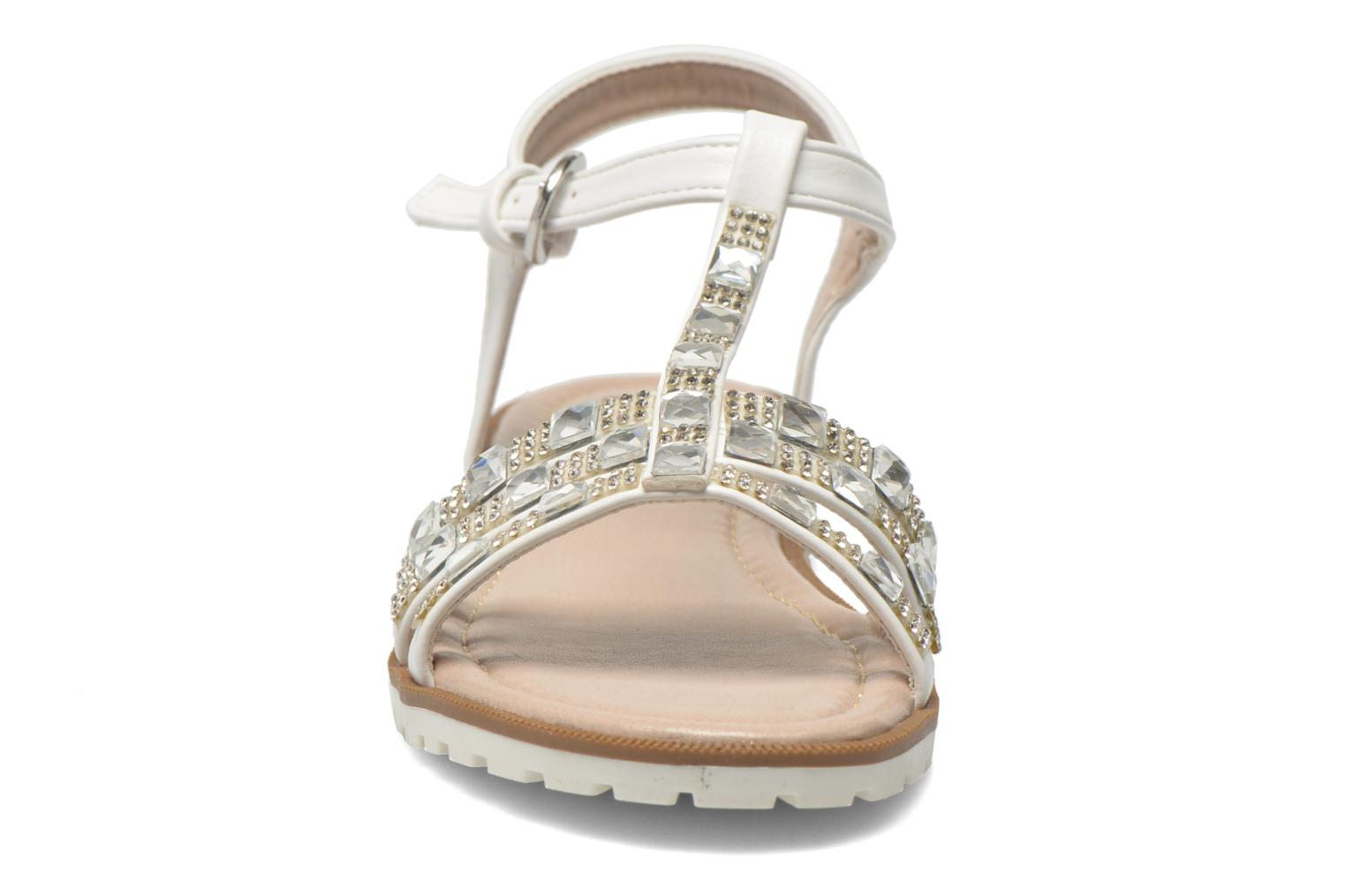 Sandals I Love Shoes Sutrass White model view