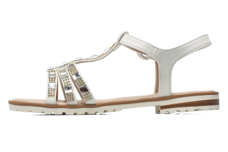 Sandalen I Love Shoes Sutrass weiß ansicht von vorne