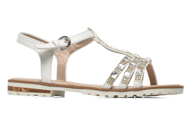 Sandales et nu-pieds I Love Shoes Sutrass Blanc vue derrière