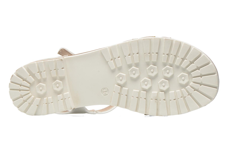 Sandales et nu-pieds I Love Shoes Sutrass Blanc vue haut
