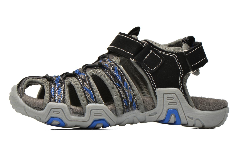 Sandales et nu-pieds I Love Shoes Sulivo Gris vue face