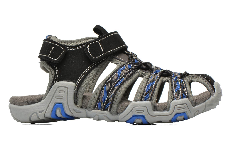 Sandales et nu-pieds I Love Shoes Sulivo Gris vue derrière