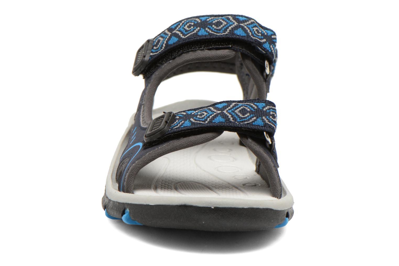 Sandales et nu-pieds I Love Shoes Suriver Bleu vue portées chaussures