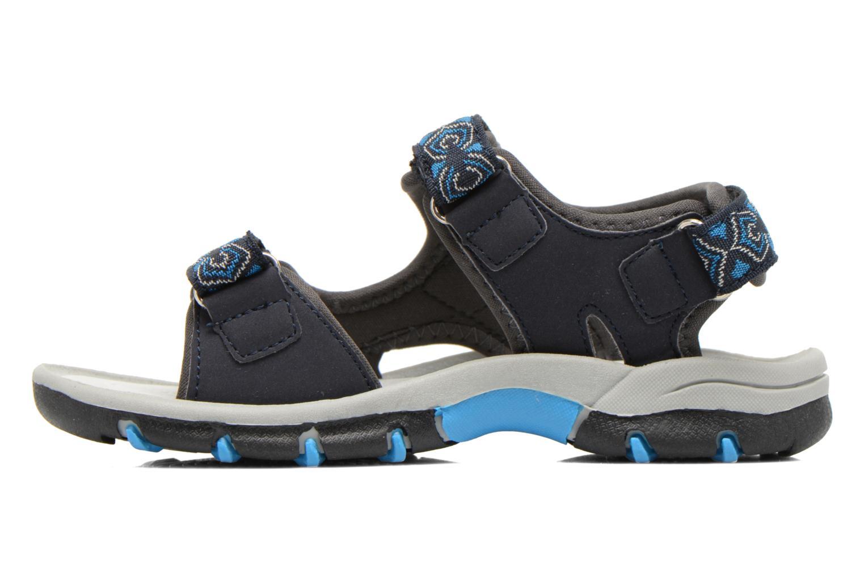 Sandales et nu-pieds I Love Shoes Suriver Bleu vue face