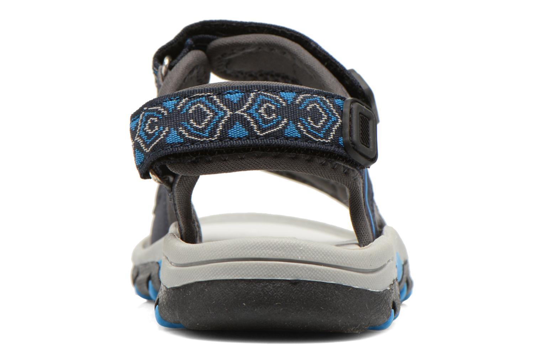 Sandalen I Love Shoes Suriver blau ansicht von rechts