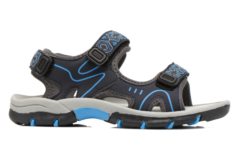 Sandalen I Love Shoes Suriver blau ansicht von hinten