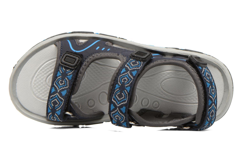 Sandalen I Love Shoes Suriver blau ansicht von links