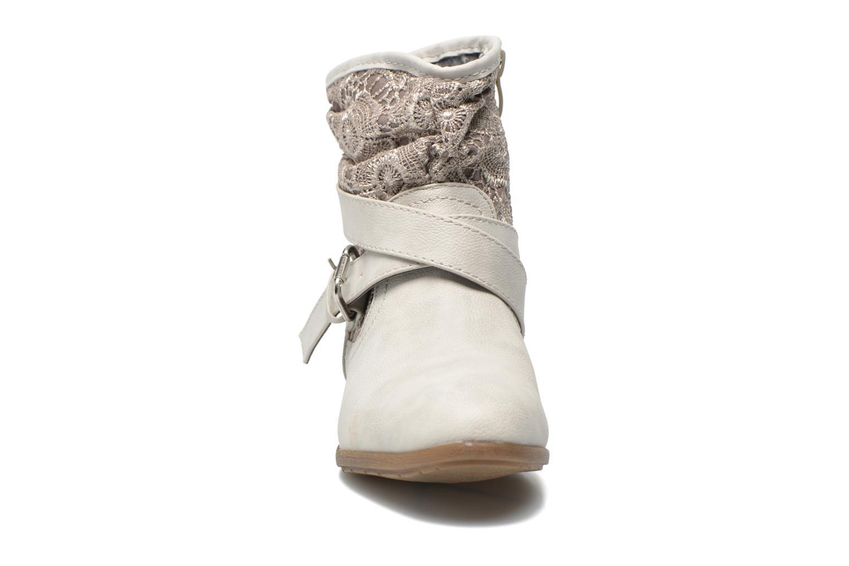 Bottines et boots I Love Shoes Sudentel Gris vue portées chaussures