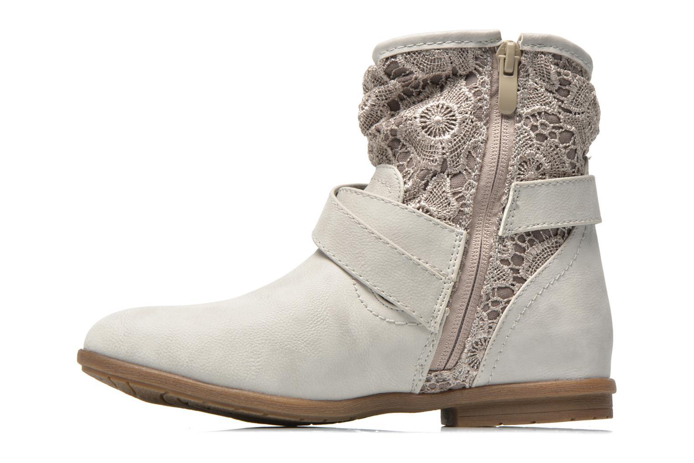 Ankelstøvler I Love Shoes Sudentel Grå se forfra