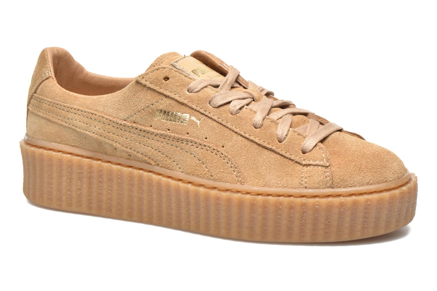 puma creepers marron
