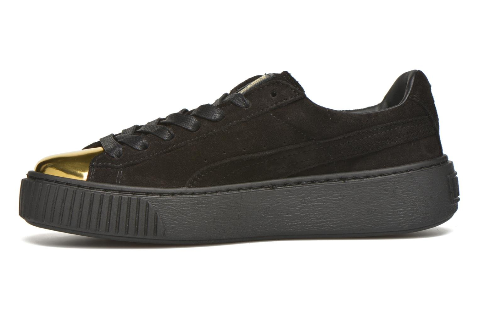 WNS Suede Creepers Gold/black