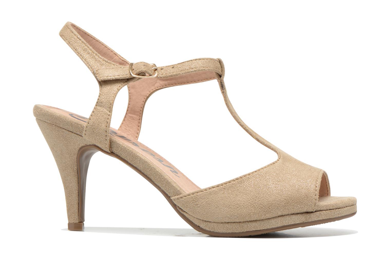 Sandals Refresh Wanita Bronze and Gold back view