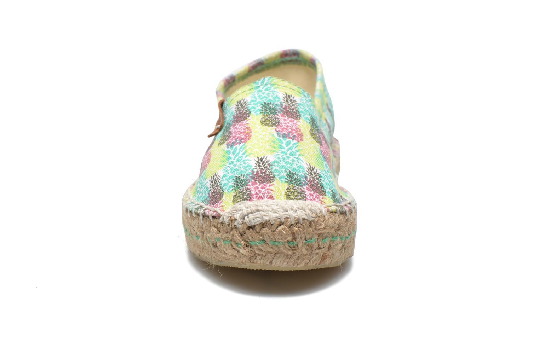 Espadrilles Coolway Jacobe Multicolore vue portées chaussures
