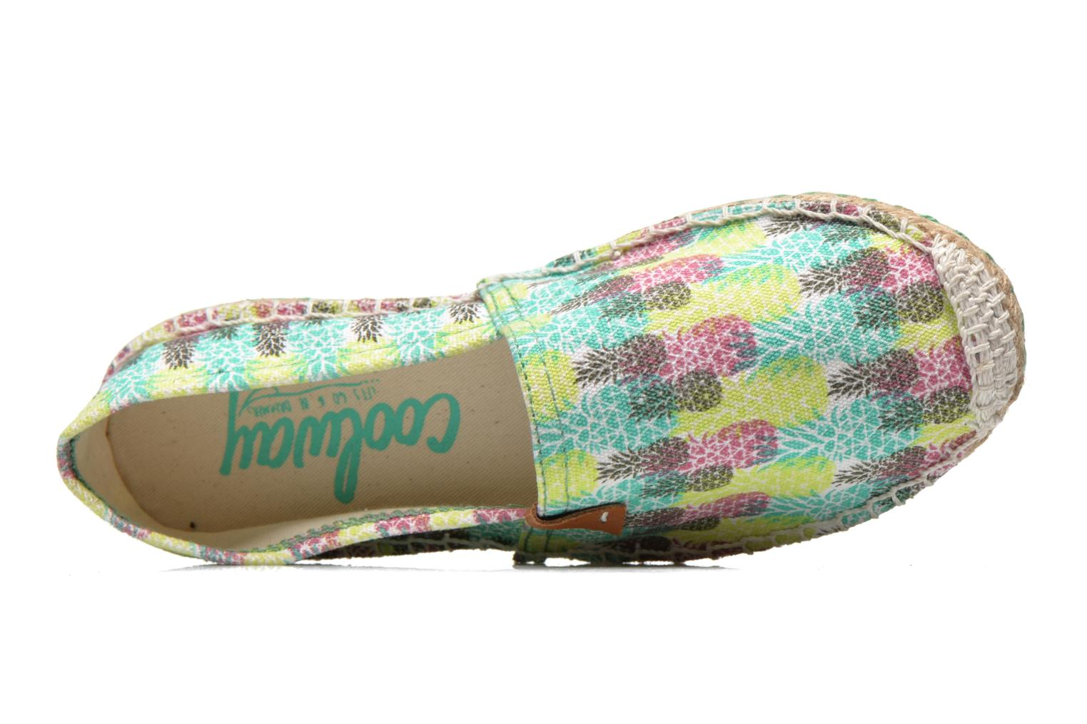 Espadrilles Coolway Jacobe Multicolor view from the left
