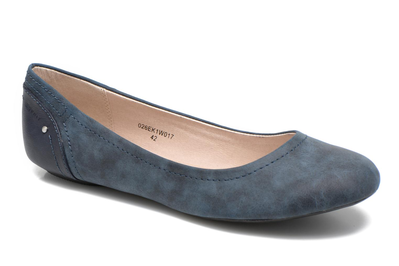 Ballerinaer Esprit Aloa Ballerina 1 Blå detaljeret billede af skoene