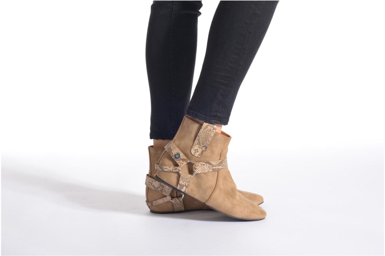 Boots en enkellaarsjes Esprit Issy Bootie Beige onder