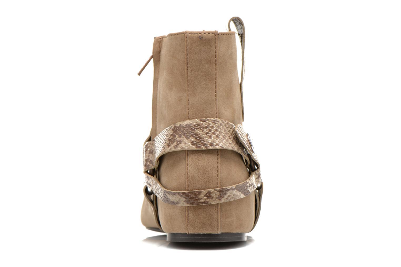 Boots en enkellaarsjes Esprit Issy Bootie Beige rechts
