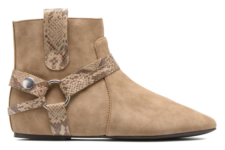 Boots en enkellaarsjes Esprit Issy Bootie Beige achterkant