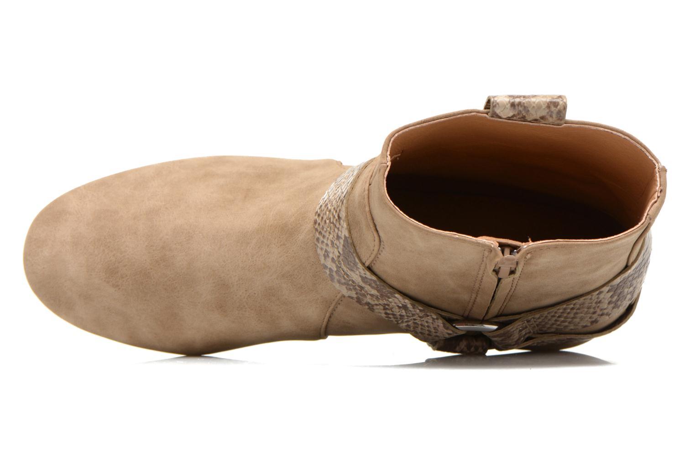 Boots en enkellaarsjes Esprit Issy Bootie Beige links