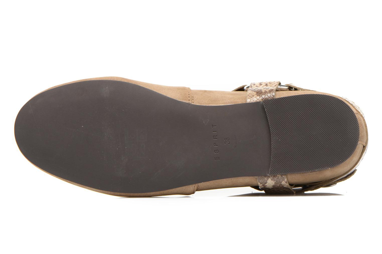 Boots en enkellaarsjes Esprit Issy Bootie Beige boven