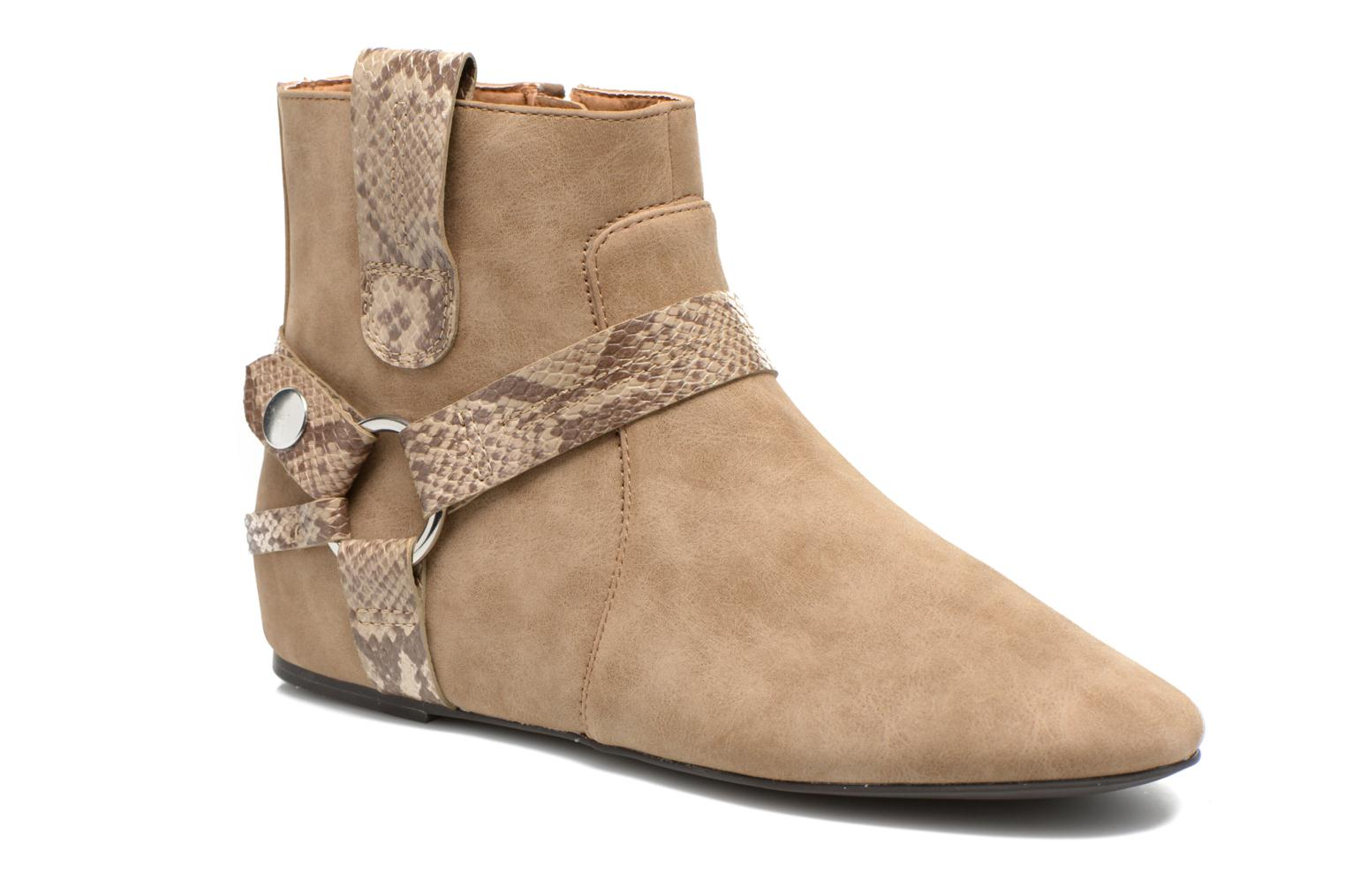 Issy Bootie Taupe 2