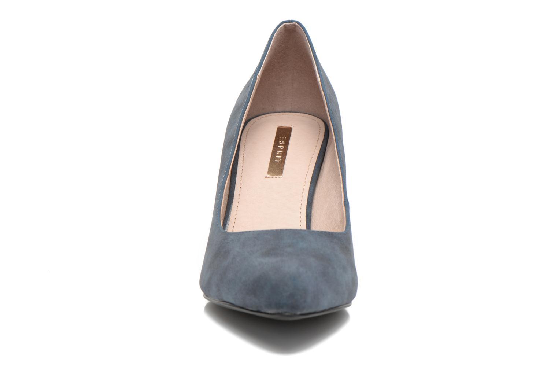 Escarpins Esprit Rossy Pump Bleu vue portées chaussures