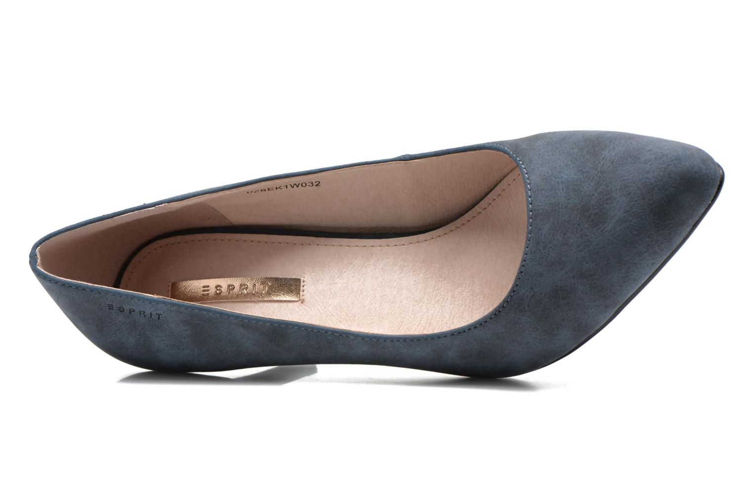 High heels Esprit Rossy Pump Blue view from the left