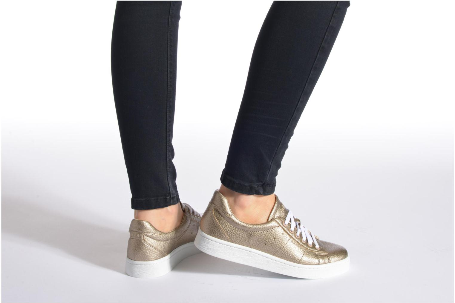 Gwen Lace Up Pale Khaki