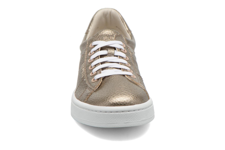 Baskets Esprit Gwen Lace Up Or et bronze vue portées chaussures