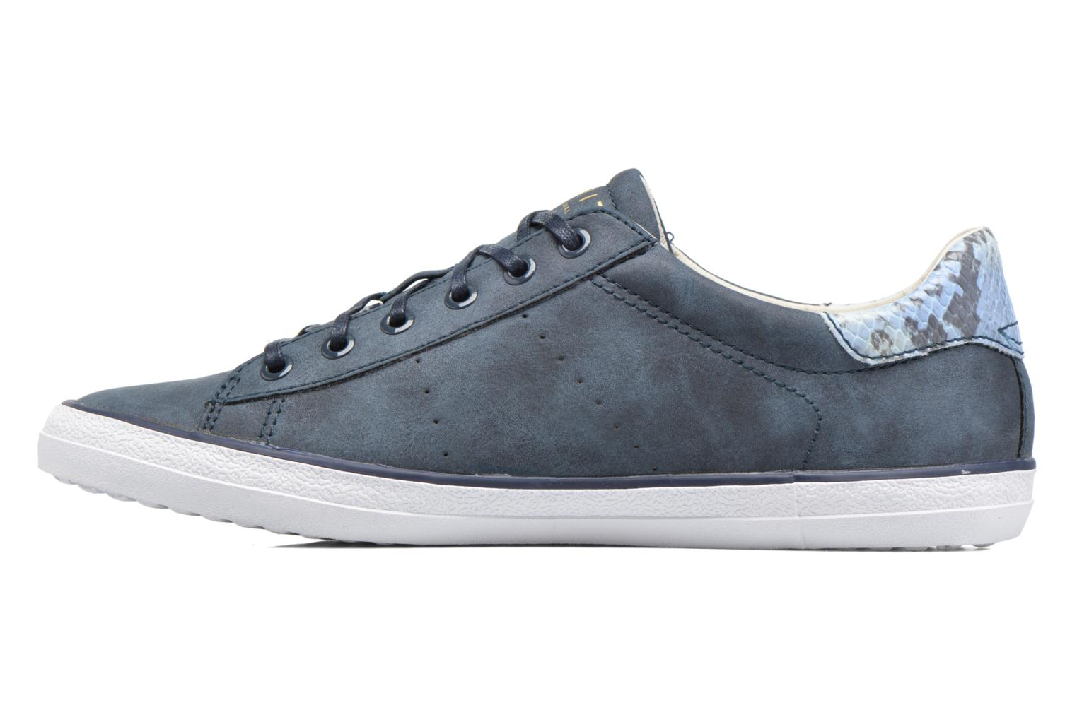 Baskets Esprit Miana Lace Up Bleu vue face