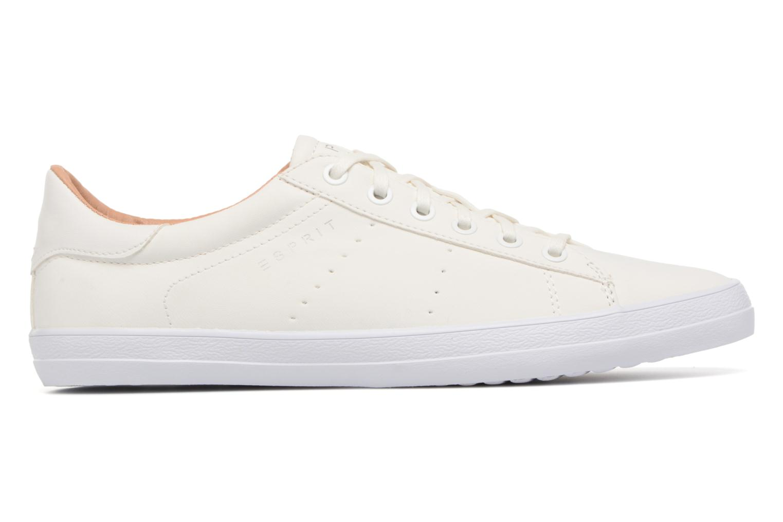 Sneakers Esprit Miana Lace Up Hvid se bagfra